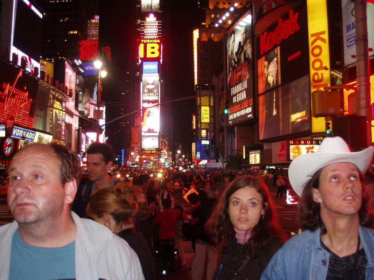 Divadlo na Times Square - New York (2009)