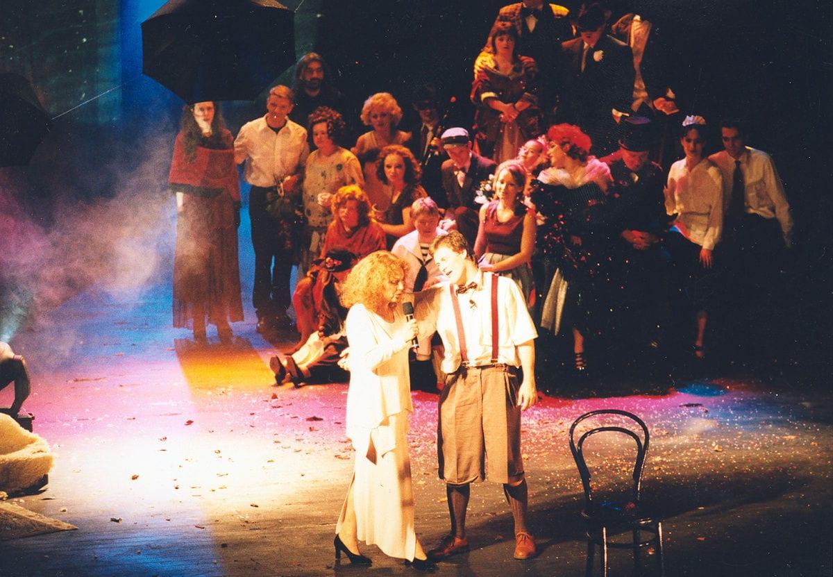 Svetlá rámp v Pasáži STV (1999)