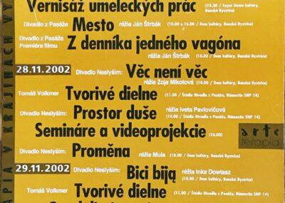 ARTETERAPIA 2002